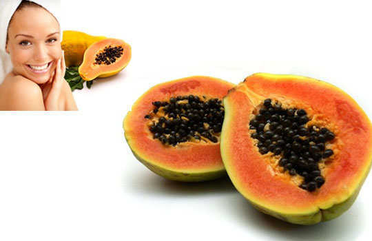 facial-masks-home-made-papaya-mask
