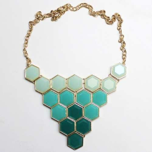 hexagon-turquoise-necklace