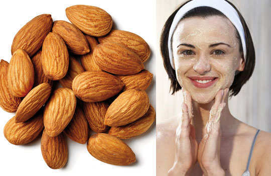 reduce-pore-size-skin-home-remedies-almond-scrub