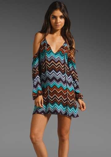 strapless-chiffon-dress