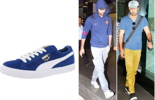 unknown-facts-ranbir-kapoor-casual-shoes