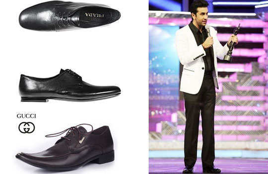 unknown-facts-ranbir-kapoor-formal-shoes