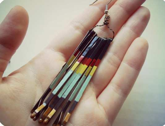 Diy-Bobby-Pin-Earrings-step-5