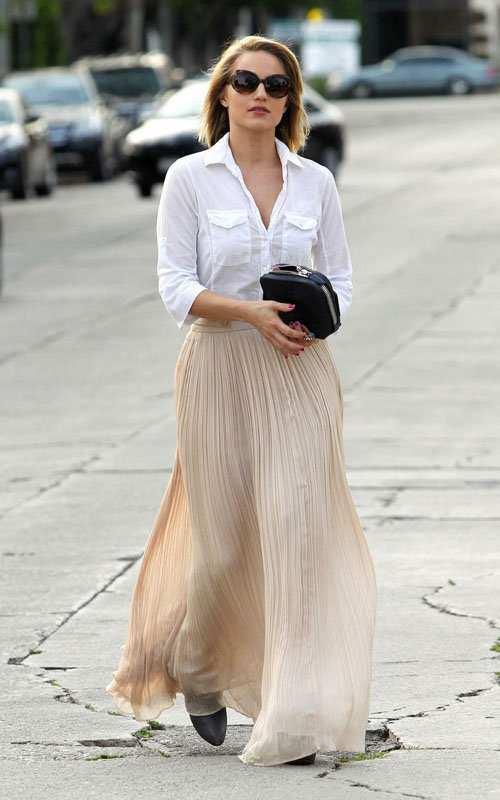 Pleated-Skirts