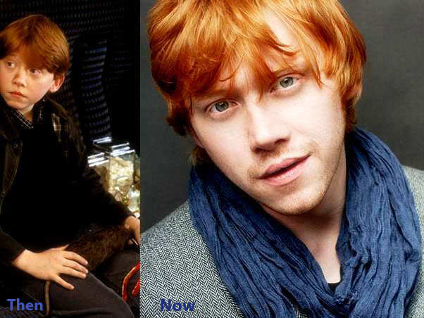 Harry Potter Characters- Then and Now