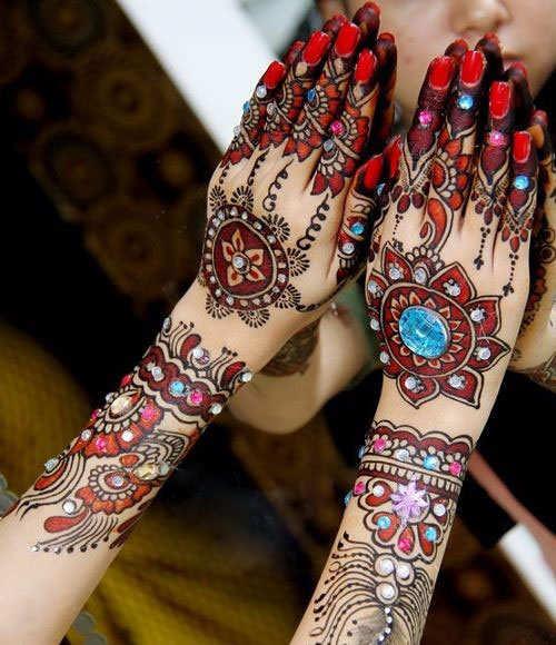 Chinese Mehndi Henna : Chinese mehndi designs makedes