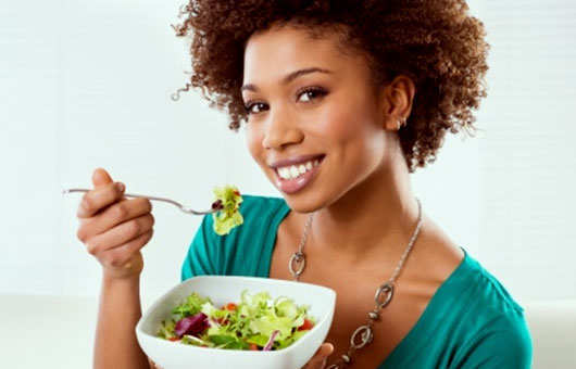 worst-hair-care-habits-unhealthy-diet-food-6