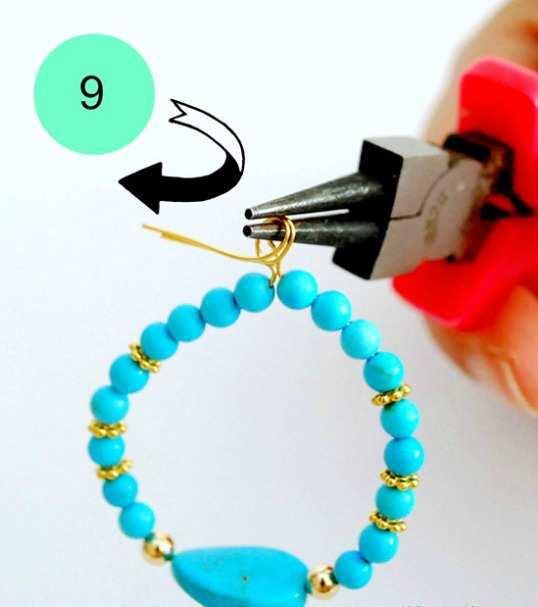 Beaded-Hoop-Earrings-step-9