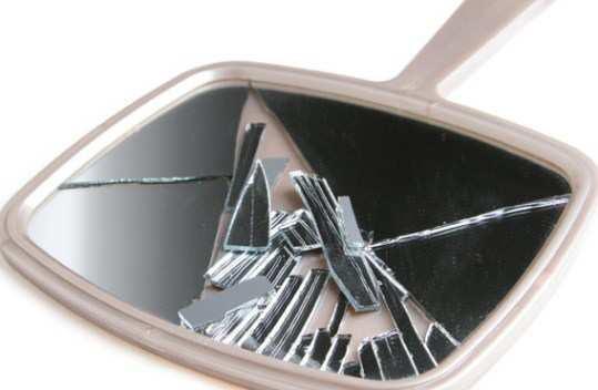 Breaking-of-mirror