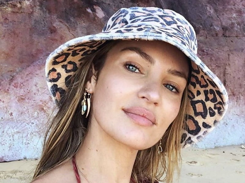 selfie picture from Hollywood celebrity Candice Swanepoel