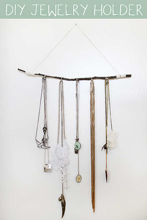 15 easy to make diy jewellery holders solutioingenieria Images