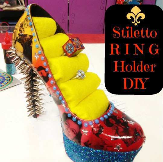 Stilleto-Ring-Holder
