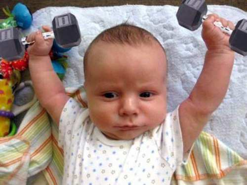 baby-exercise