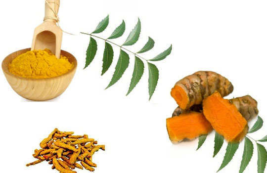 sweaty-palms-hands-home-remedies-neem-turmeric