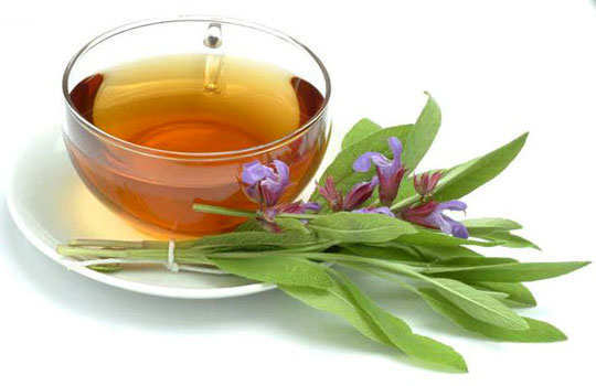 sweaty-palms-hands-home-remedies-sage-tea