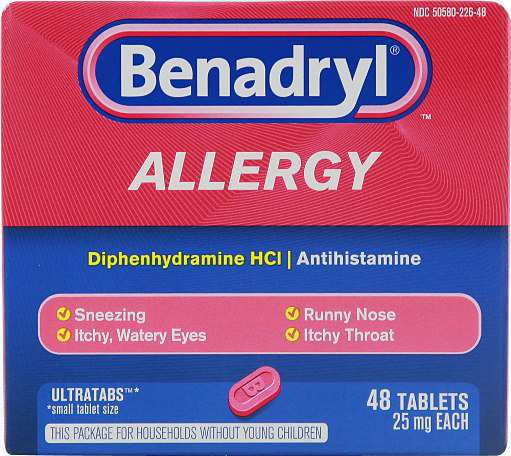 Benadryl-Allergy