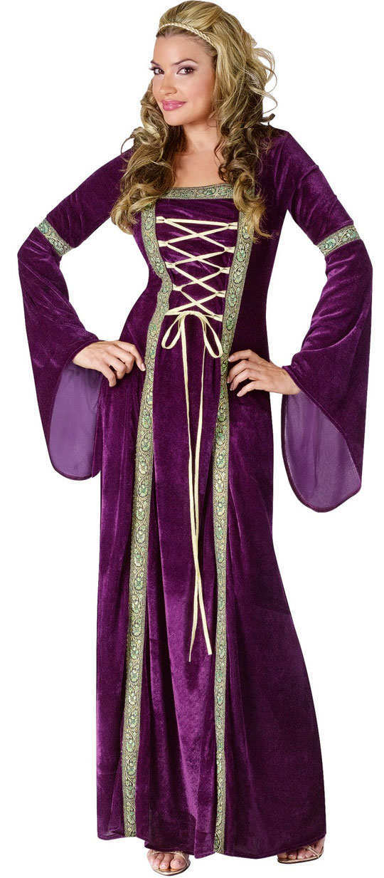halloween-outfits-Renaissance-lady-adult-costume