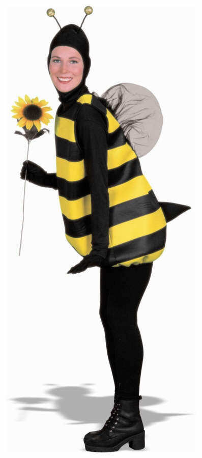 halloween-outfits-bumble-bee-costume