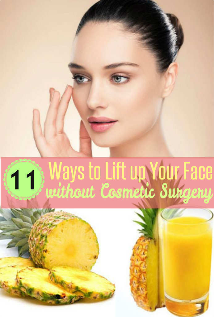 11 Ways to Lift Up Your Face without Surgeon's Knife