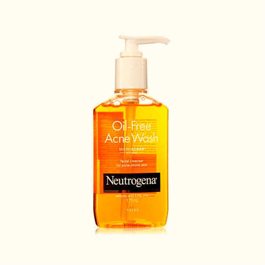Neutrogena-Oil-Free Acne-Wash