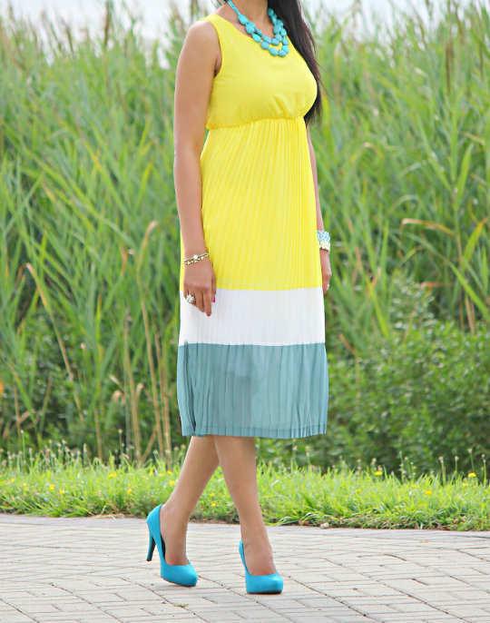 Demure Length Dress