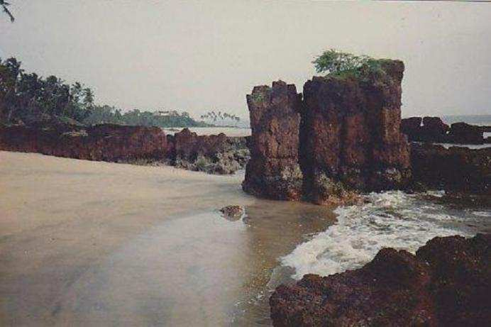 Siridao Beach GOA