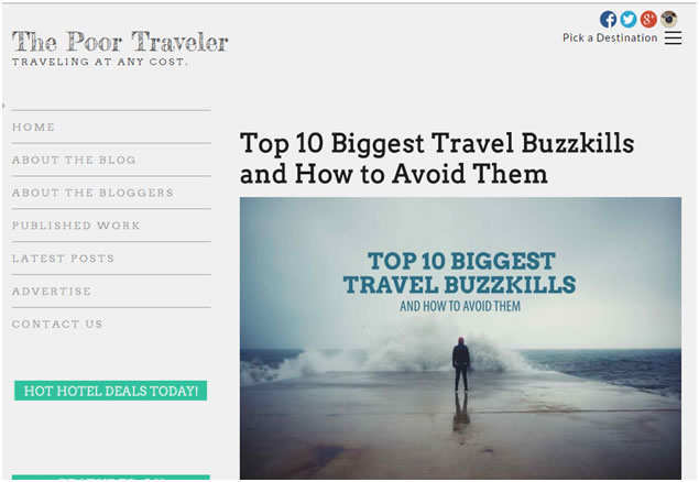 Top Travel Blog 6
