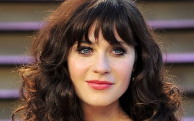 curly hairstyles with straight bangs