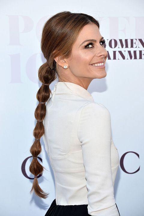 Sleek Bubble Ponytail
