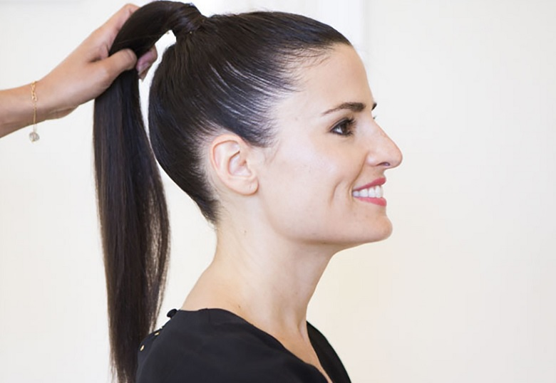 How to Get a Sleek Ponytail