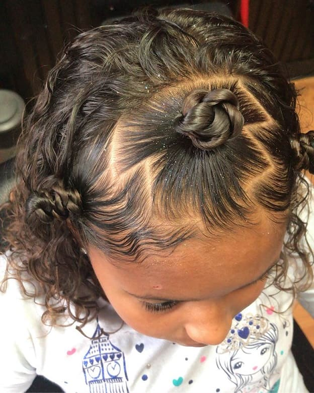 cute hairstyles for mixed baby girl