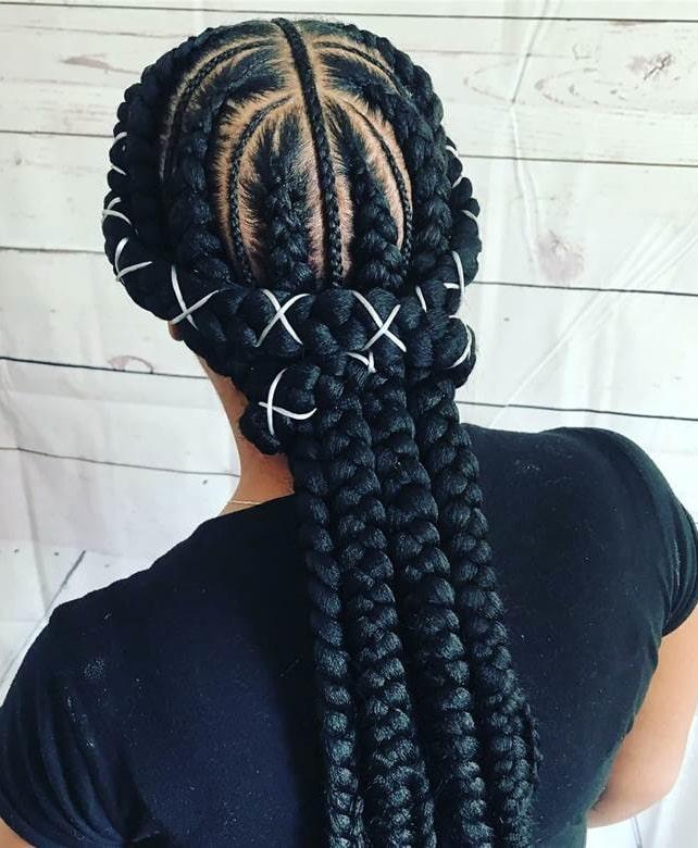 jumbo lemonade braids hairstyles