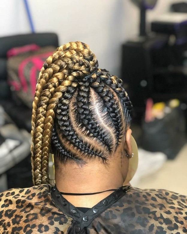 7 Trendy Jumbo Lemonade Braided Hairstyles To Try
