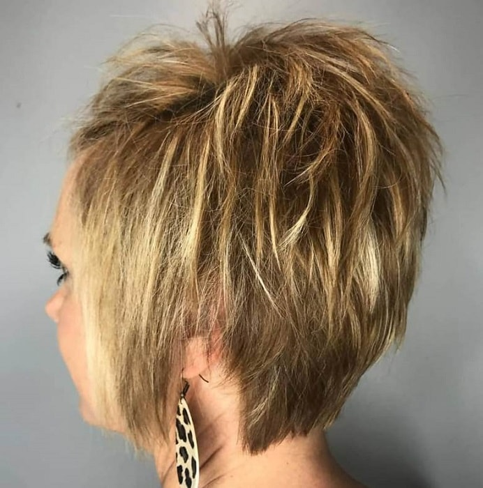 12 Stellar Textured and Layered Pixie Cuts for Women [2019]