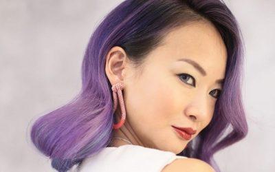 pastel purple hairstyles