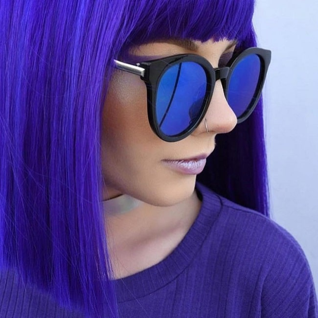 short hairstyles with colors