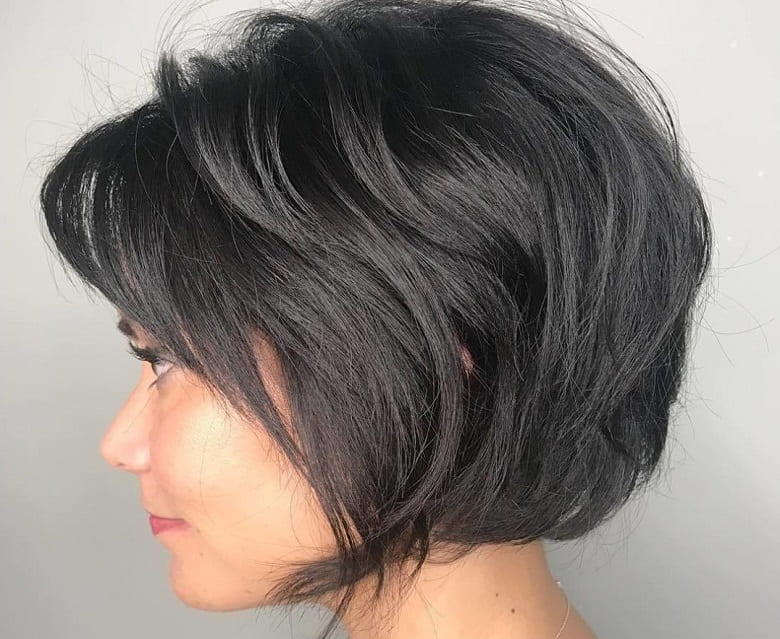 How to Style a Tousled Bob