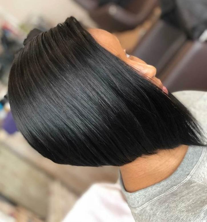 A-Line Bob Tracks Hairstyle