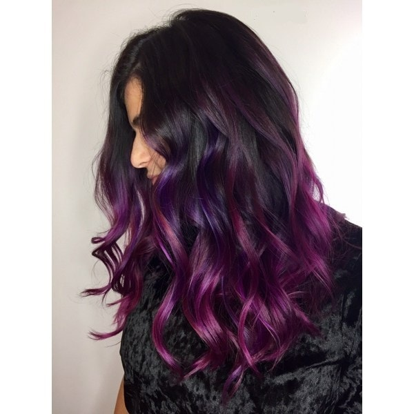 5 Of The Hottest Aubergine Hair Color Ideas For Modern