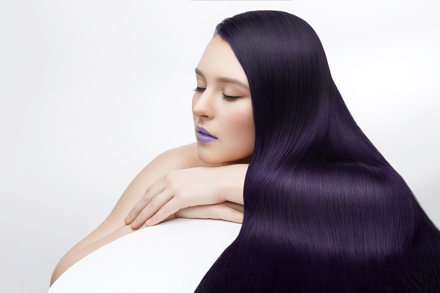 5 Of The Hottest Aubergine Hair Color Ideas For Modern Girls 2019 Trend Wetellyouhow