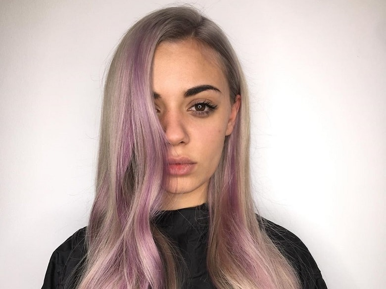 How to Get Purple Highlights