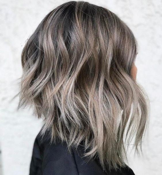 inverted shaggy bob haircut