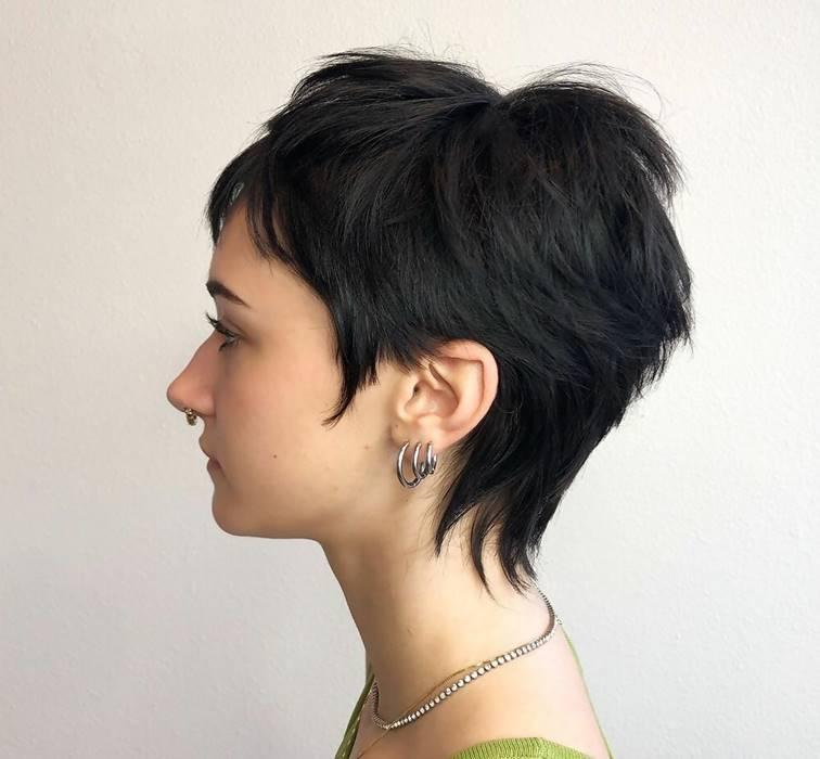 long shaggy pixie cut
