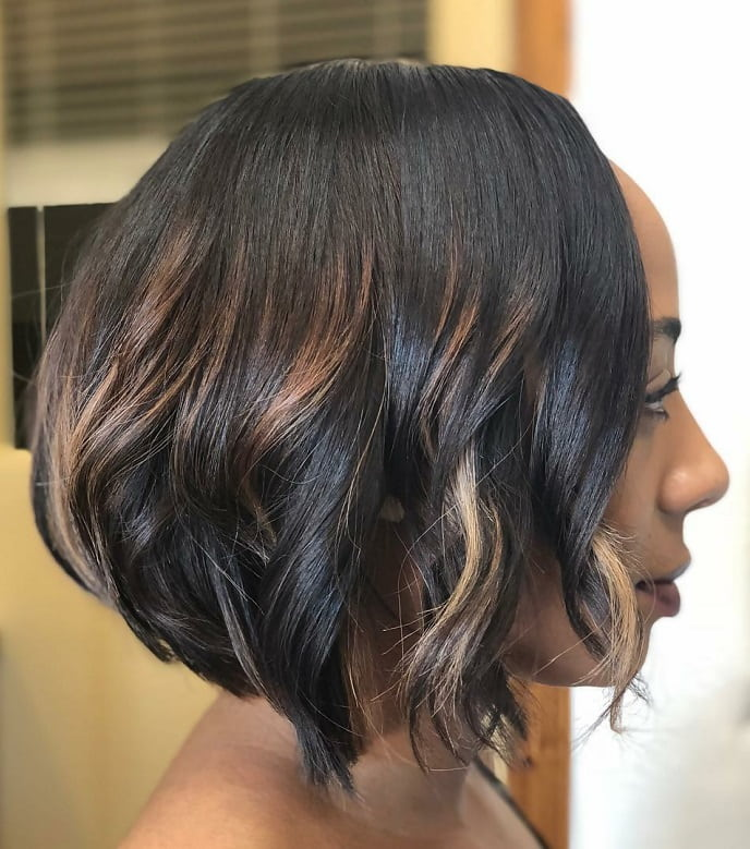 8 Coolest Short Bob Hairstyles With Weave For Women