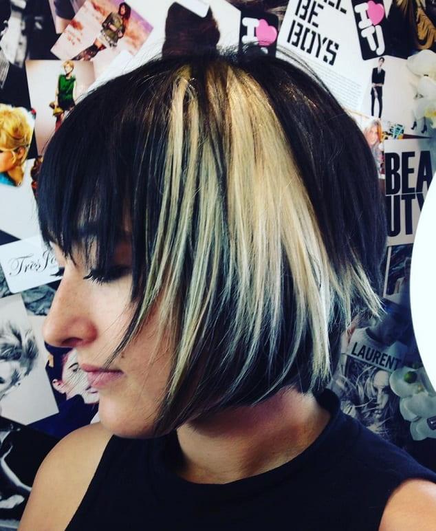 short razor shag for fine haired women