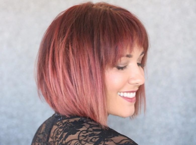 How to Cut Stacked Layered Bob