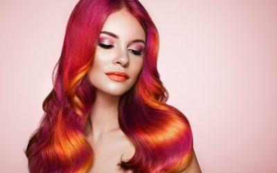 sunset ombre hair