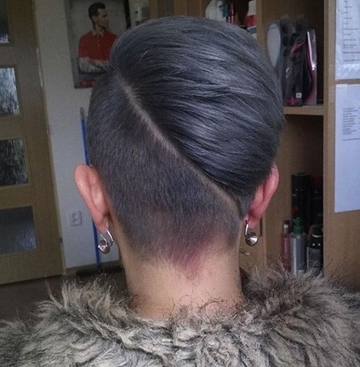 undercut bob haircut