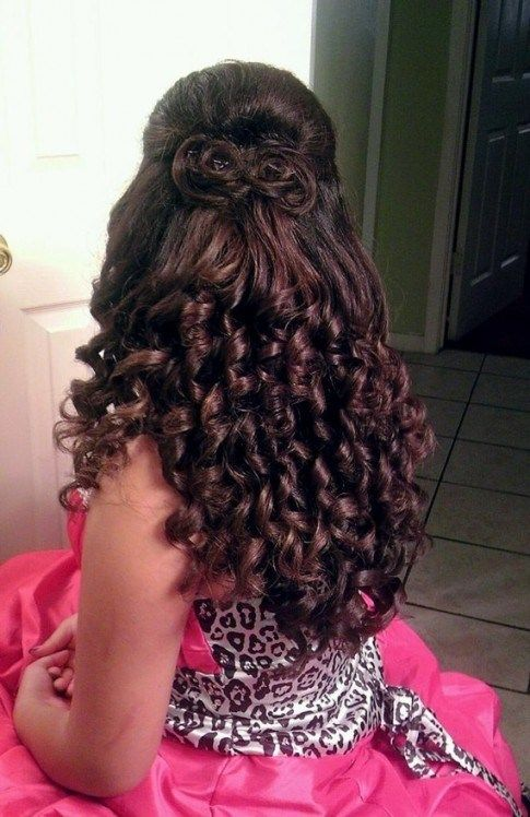 hairstyles with waterfall curls